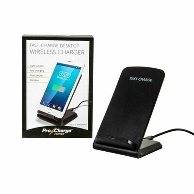 Fast-Charge Desktop Wireless Charger