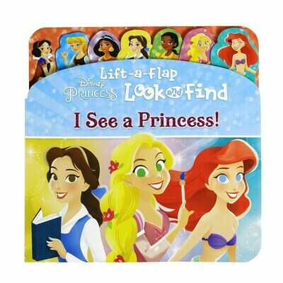 Lift a Flap L&F I See a Princess! BB