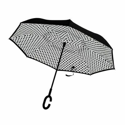 Upside Down Umbrella Polka Dot