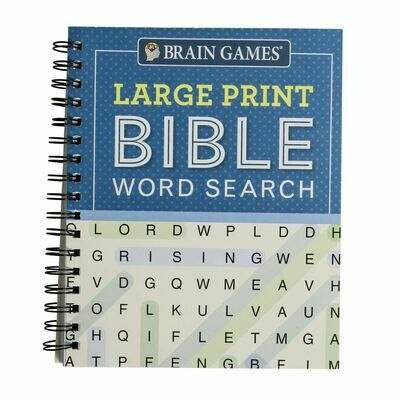 BG Large Print Bible Word Search