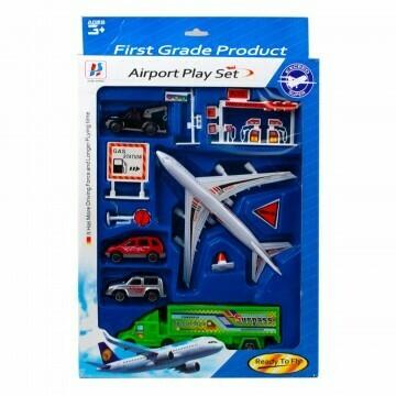 Assorted Transportation Play Set