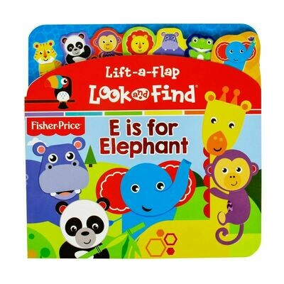 Lift-A-Flap E is for Elephant Fisher Pri