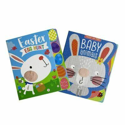 Easter Egg Hunt/Baby Animals 2-Set BB