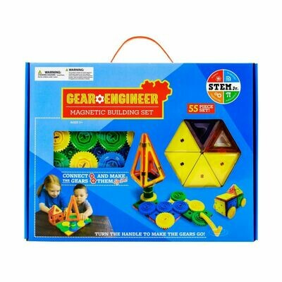 Gear Engineer Magnetic Building Set (new