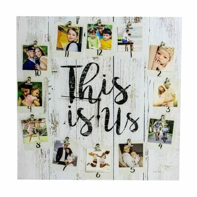 This is Us Clock