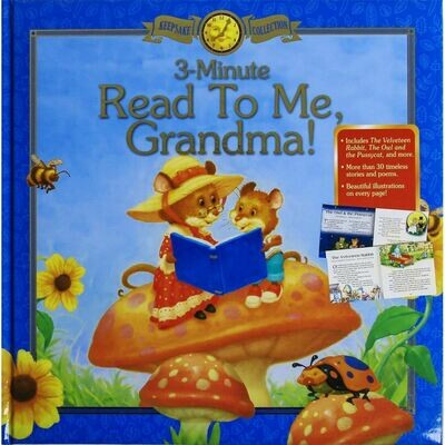 3-Minute Read to Me, Grandma! Keepsake T