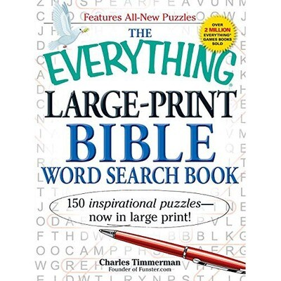 Large Print Word Search - Bible