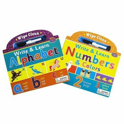 Write & Learn Alphabet/Number 2-Set