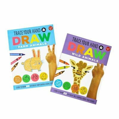 Trace Your Hand & Draw 2 set