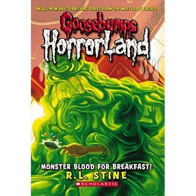 Goosebumps HorrorLand Monster Blood