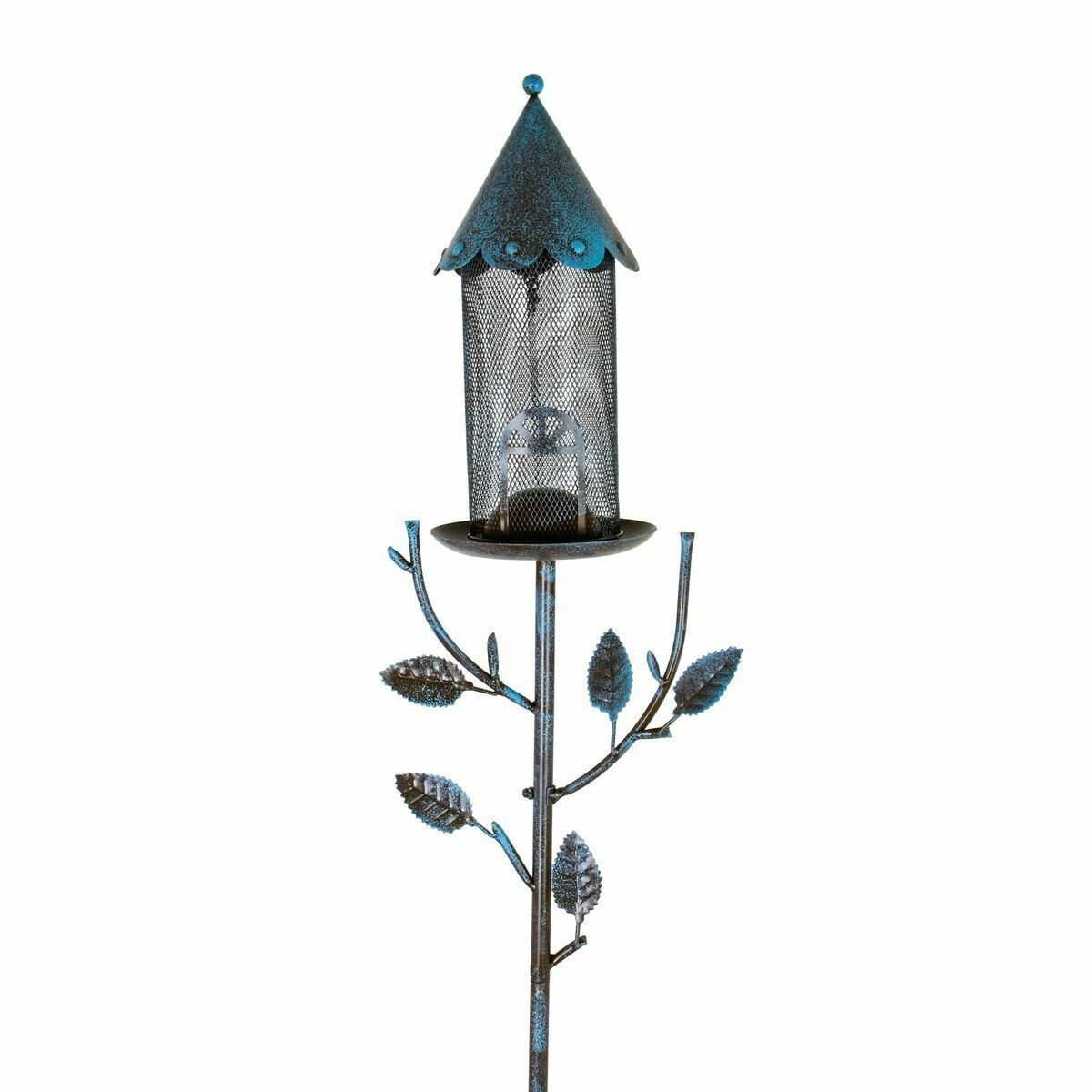 Metal Mesh House Shaped Bird Feeder