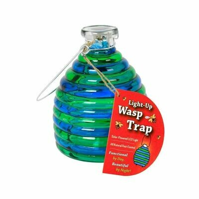 Light-Up Wasp Trap blue/green