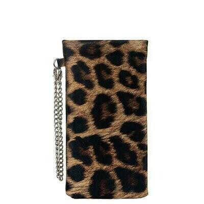 Sunglass Case-Leopard