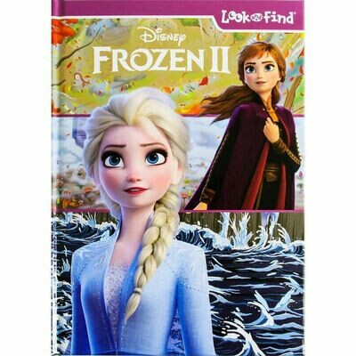 Frozen 2 Look and Find (Hardcover)