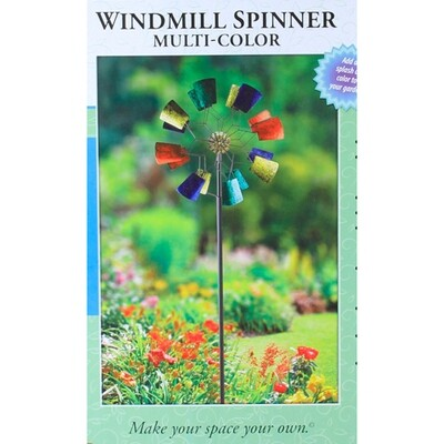Multi Color Pinwheel Lawn Decoration