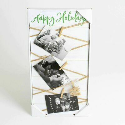 Happy Holidays MDF Memo Board