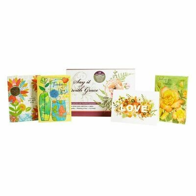 Say It With Grace Card Assortment NEW