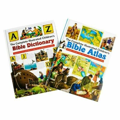 Complete Illustrated Bible & Atlas 2 Set