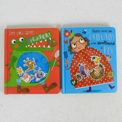 There was Old Lady/Later Alligator 2-Set