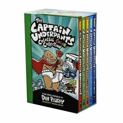 Captain Underpants Colossal Collection