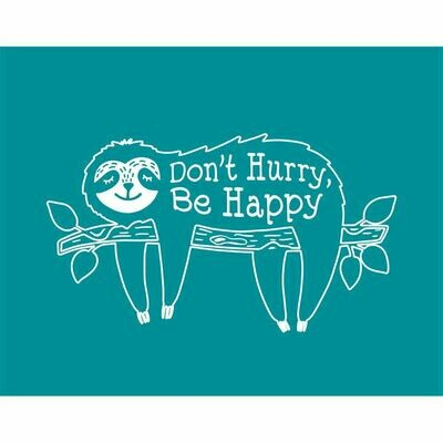 Tote Bag - Don't Hurry, Be Happy
