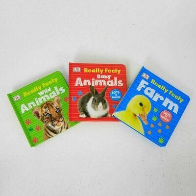 Really Feely Animals 3-Set