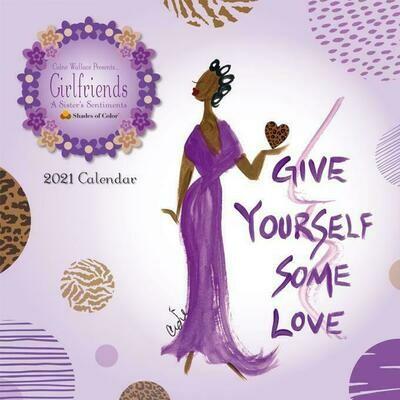 2021 Girlfriends, A Sister's Sentiments Calendar
