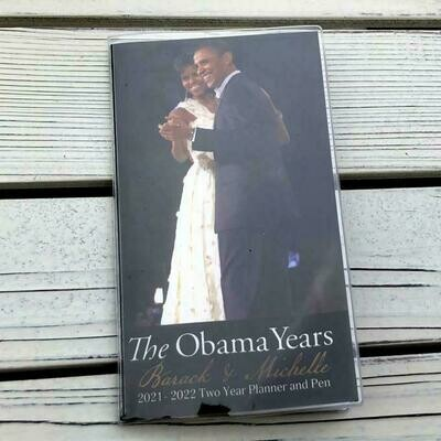The Obama Years - 2 Year Planner with Bookmark Pen