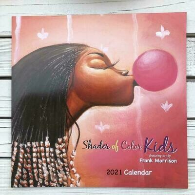 2021 Shades of Color Kids Calendar