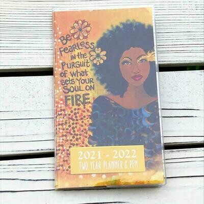 Soul On Fire - 2 Year Planner with Bookmark Pen