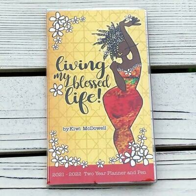 Living My Blessed Life - 2 Year Planner with Bookmark Pen