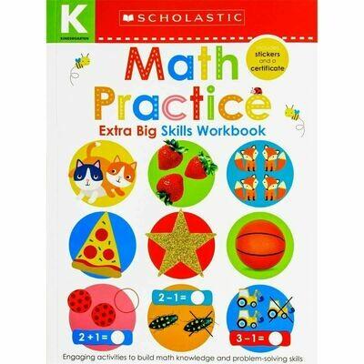 Scholastic Math Practice-K PB