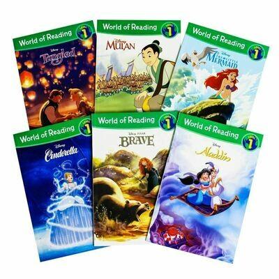 Disney Princess World of Reading PB Box