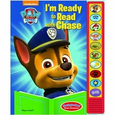 Paw Patrol I'm Ready to Read with Chase