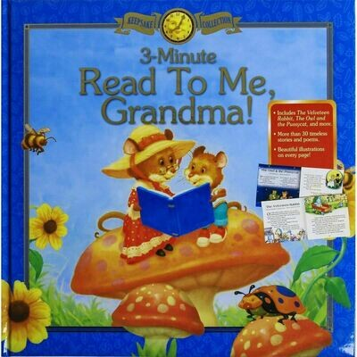 3-Minute Read to Me, Grandma! Keepsake T