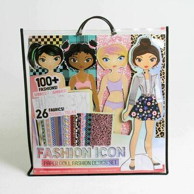 Fashion Icon Paper Doll Fashion Set