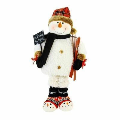 All My Friends Are Flakes - Collapsible Snowman