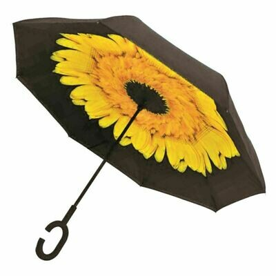 Upside Down Umbrella Sunflower