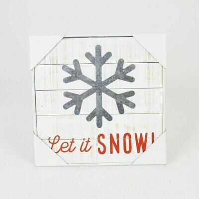 Let It Snow Frame