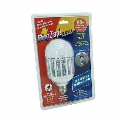 2-in-1 LED Light + Bug Zapper