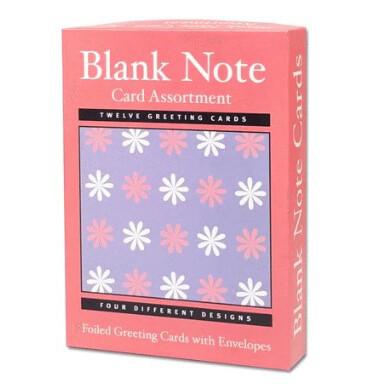 Blank Cards Assort (12)