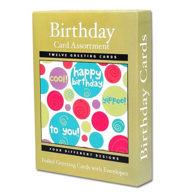 Birthday Cards Assort (12)