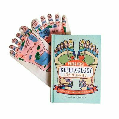 Press Here! Reflexology Book/Socks 2 Set