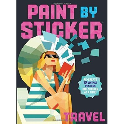 Paint By Sticker (Travel)