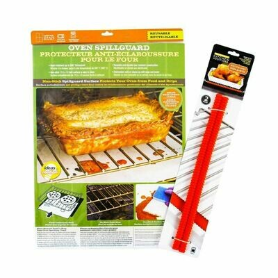 Oven Spill Guard and Edge Guard Set