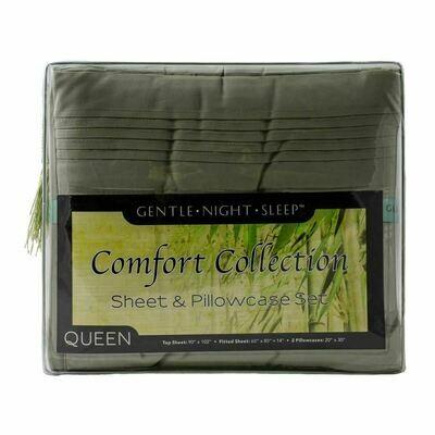 Microfiber Sheet Set Queen - Sage Green
