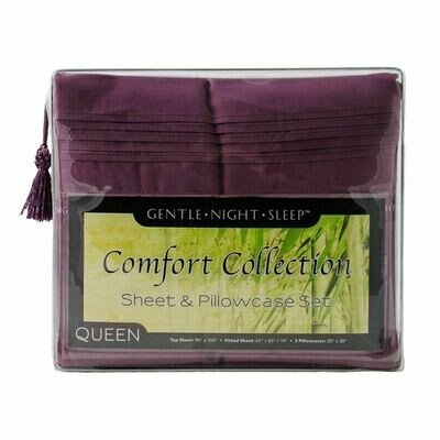 Microfiber Sheet Set Queen - Lavender