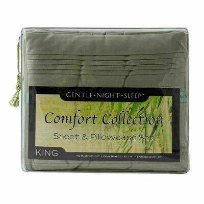 Microfiber Sheet Set King - Sage Green