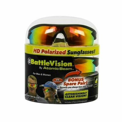 Battle Vision Polarized Sunglasses (2Pk)