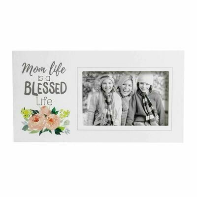 Mom Life is Blessed Life Frame